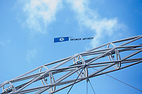 A banner in support of Chelsea manager Antonio Conte is flown over the stadium during play  <br /> <br /> <br /> Photographer Craig Mercer/CameraSport<br /> <br /> Emirates FA Cup Semi-Final - Chelsea v Tottenham Hotspur - Saturday 22nd April 2017 - Wembley Stadium - London<br />  <br /> World Copyright &copy; 2017 CameraSport. All rights reserved. 43 Linden Ave. Countesthorpe. Leicester. England. LE8 5PG - Tel: +44 (0) 116 277 4147 - admin@camerasport.com - www.camerasport.com