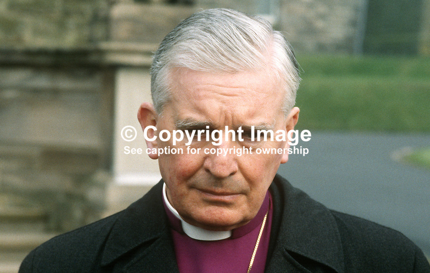 Rt Rev William McCappin, Church of Ireland, Anglican, Bishop of Connor, N Ireland, 19840045WMC1..Copyright Image from Victor Patterson, 54 Dorchester Park, Belfast, UK, BT9 6RJ..Tel: +44 28 9066 1296.Mob: +44 7802 353836.Voicemail +44 20 8816 7153.Skype: victorpattersonbelfast.Email: victorpatterson@me.com.Email: victorpatterson@ireland.com (back-up)..IMPORTANT: If you wish to use this image or any other of my images please go to www.victorpatterson.com and click on the Terms & Conditions. Then contact me by email or phone with the reference number(s) of the image(s) concerned.