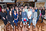 Pierce Owens, Tralee, celebrates his 30th Birthday with family and friends at Benners Hotel on Friday