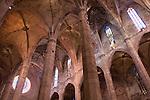 Nave, Cathedral, Palma, Majorca, Mallorca, Spain