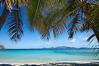 View from Smugglers Cove near the west end of Tortola<br /> British Virgin Islands