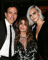 BEVERLY HILLS, CA - April 07: Dr. Bill Dorfman, Paula Abdul, Cara Delevingne, At 4th Annual unite4:humanity Gala_Inside At Madame Tussauds  In California on April 07, 2017. Credit: FS/MediaPunch