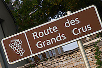 Route des Grands Crus. The village. Pommard, Cote de Beaune, d'Or, Burgundy, France