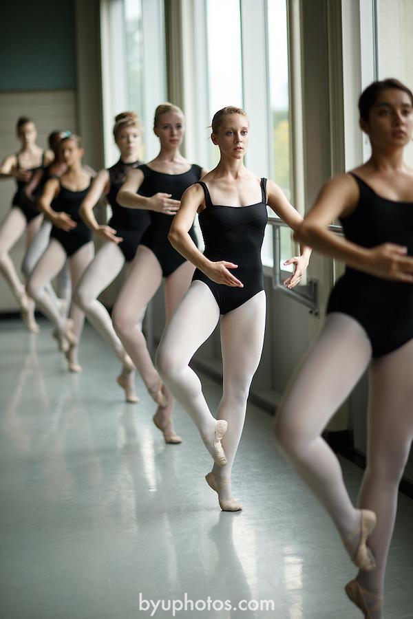 1309-37 130<br /> <br /> 1309-37 Theatre Ballet Class<br /> <br /> Shani Robison<br /> <br /> September 13, 2013<br /> <br /> Photo by Jaren Wilkey/BYU<br /> <br /> &copy; BYU PHOTO 2013<br /> All Rights Reserved<br /> photo@byu.edu  (801)422-7322