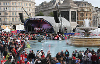 OCT 26 NFL Fan Rally @ Trafalgar Square