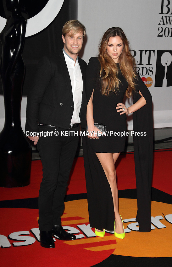 The BRIT Awards with MasterCard 2014 Red Carpet arrivals at the 02 Arena, London on February 19th 2014 <br /> <br /> Photo by Keith Mayhew