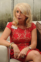 NWA Democrat-Gazette/ANDY SHUPE - Jennifer Necessary is the executive director of the Arkansas Chapter of the ALS Association. Thursday, May 7, 2015.