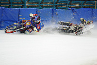 MOTORSPORT: HEERENVEEN: 30-03-2017, IJsstadion Thialf, IJsspeedway training, ©foto Martin de Jong