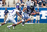 _88R4411..2012 FTB vs Weber State University..BYU - 45.Weber State - 6. .Photo by Jaren Wilkey/BYU..September 8, 2012..© BYU PHOTO 2012.All Rights Reserved.photo@byu.edu  (801)422-7322