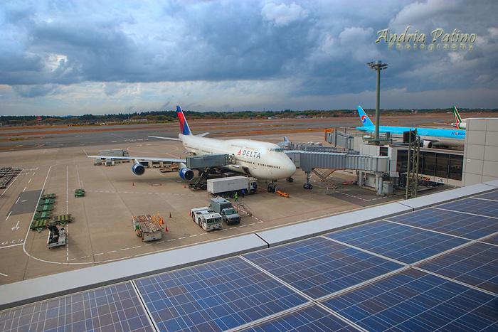 Solar Panels at Airport   Andria Patino   Photography