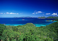 View of Trunk Bay and Beyond<br />
