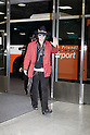 "May 12, 2012, Chiba, Japan - US actor Johnny Depp arrives at Narita International Airport. Johnny Depp is in Japan to promote the film, ""Dark Shadows"" which will be released in Japanese theaters on May 19. (Photo by Christopher Jue/AFLO)"
