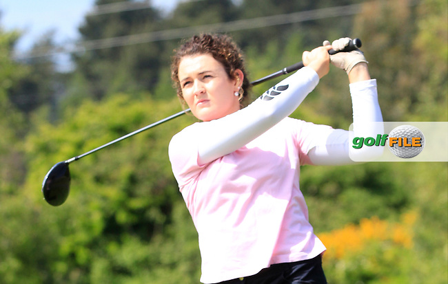 Jenny Hennessy (Lahinch) on the 7th tee during Round 1 of the Irish Women's Open Strokeplay Championship at Dun Laoghaire Golf Club on Saturday 23rd May 2015.<br /> Picture:  TJ Caffrey / www.golffile.ie