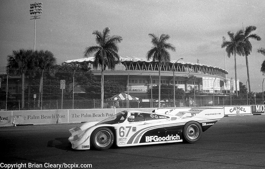 1987 Imsa Grand Prix Of Palm Beach Photos By Brian Cleary Www Bcpix Com