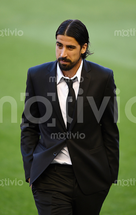 FUSSBALL  INTERNATIONAL Copa del Rey FINALE  2013/2014    FC Barcelona - Real Madrid            16.04.2014 Sami Khedira (Real Madrid)