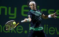 Juan MONACO (ARG) against Fernando GONZALEZ (CHI) in the third round of the men's singles. Fernando Gonzalez defeated Juan Monaco 6-7 6-4 6-2..International Tennis - 2010 ATP World Tour - Sony Ericsson Open - Crandon Park Tennis Center - Key Biscayne - Miami - Florida - USA - Mon 29th Mar 2010..© Frey - Amn Images, Level 1, Barry House, 20-22 Worple Road, London, SW19 4DH, UK .Tel - +44 20 8947 0100.Fax -+44 20 8947 0117