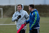 Toronto, ON, Canada - Thursday Dec. 08, 2016: Jordan Morris during training prior to MLS Cup at the Kia Training Grounds.