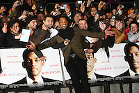 "Will Smith at the film premiere of ""Seven Pound"" at the Empire cinema in Leicester Square."