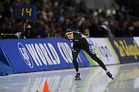 SPEED SKATING: SALT LAKE CITY: 21-11-2015, Utah Olympic Oval, ISU World Cup, 10.000m Men, Ted-Jan Bloemen (CAN), World Record: 12.36,30, ©foto Martin de Jong