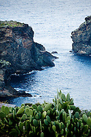 Coastal scene on the island of Pantelleria, Sicily, Italy