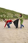 Trillium & Kaya On Beach Cleanup