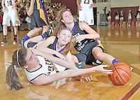 Guerin Girls Basketball vs. Brebeuf 1-18-13