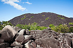 Black Mountain in Kalkajaka (Black Mountain) National Park.  Cooktown, Queensland, Australia