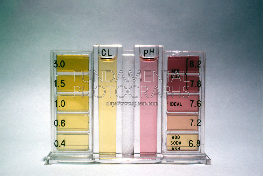 SWIMMING POOL TEST KIT FOR pH &amp; CHLORINE<br />