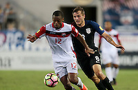 Jacksonville, FL - September 6, 2016: The U.S. Men's National team go on to defeat Trinidad & Tobago 4-0 during a World Cup Qualifier (WCQ) match at EverBank Field.