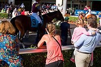 HALLANDALE BEACH, FL - MARCH 18:  Scenes from Gulfstream at Gulfstream Park, Hallandale Beach, FL. (Photo by Arron Haggart/Eclipse Sportswire/Getty Images)
