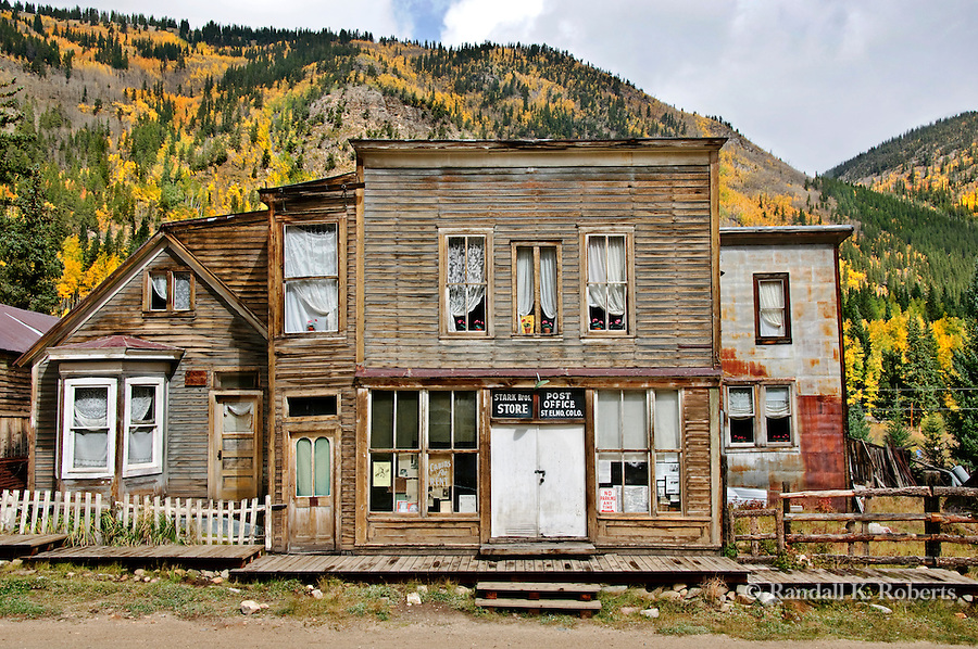 "St. Elmo old West ""ghost""  town, Colorado, autumn"
