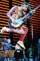 The Red Hot Chili Peppers in concert
