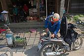 Petrol station, Sapa, Vietnam