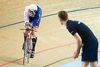 Picture by Alex Whitehead/SWpix.com - 03/03/2017 - Cycling - UCI Para-cycling Track World Championships - Velo Sports Center, Los Angeles, USA - Great Britain's Jon Gildea.