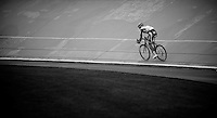 Paris-Roubaix 2012 ..Tom Boonen enters the Tom Boonen enters the Velodrome solo to claim his 4th win at Roubaix