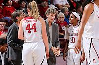 STANFORD, CA - November 18, 2016: Stanford falls to Gonzaga 68-63 at Maples Pavilion.