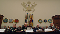 The military's service chiefs prepare to square off and give testimony to members of the House Armed Services Committee on the readiness state of the armed forces.