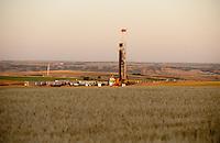 An Xtreme XDR500 drill rig working in the Bakken field near Willison, North Dakota.