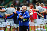 High Performance Manager Allan Ryan looks on during the pre-match warm-up. Aviva Premiership match, between Northampton Saints and Bath Rugby on September 3, 2016 at Franklin's Gardens in Northampton, England. Photo by: Patrick Khachfe / Onside Images
