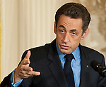 President Nicolas Sarkozy