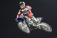 01/22/11 Los Angeles, CA:  Kyle Regal during the 1st ever AMA Supercross held at Dodger Stadium.