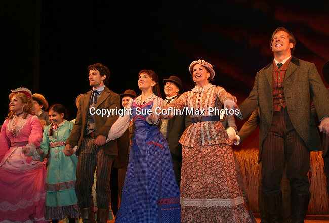 Curtain Call of opening night of Little House on the Prairie - The ...