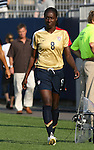 14 July 2007: United States' Tina Ellertson. The United States Women's National Team defeated their counterparts from Norway 1-0 at Rentschler Stadium in East Hartford, Connecticut in a women's international friendly soccer game.