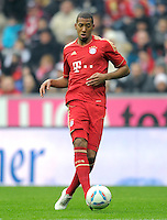 FUSSBALL   1. BUNDESLIGA  SAISON 2011/2012   19. Spieltag FC Bayern Muenchen - VfL Wolfsburg      28.01.2012 Jerome Boateng (FC Bayern Muenchen)