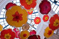 Palazzo, Hotel, Resort, Lobby, Colorful Umbrellas, hanging, Casino, Las Vegas, Nevada, Resorts, Travel; Destination; View; Unique; Quality