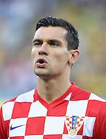FUSSBALL WM 2014  VORRUNDE    Gruppe A    12.06.2014 Brasilien - Kroatien Dejan Lovren (Kroatien)