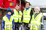 Maggie Riordan, Elaine Riordan, Aileen Griffin and Jessica Riordan at the Castleisland Walk and talk on Saturday