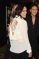 HOLLYWOOD, CA - SEPTEMBER 27: Michelle Rodriguez at the premiere of Momentum Pictures' 'Milton's Secret' at the TCL Chinese 6 Theatre on September 27, 2016 in Hollywood, California. Credit: David Edwards/MediaPunch