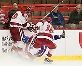 Brian Hart (Harvard - 39), Scott Wilson (UML - 23), Alex Fallstrom (Harvard - 16) - The visiting University of Massachusetts Lowell River Hawks defeated the Harvard University Crimson 5-0 on Monday, December 10, 2012, at Bright Hockey Center in Cambridge, Massachusetts.