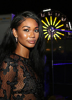 BRONX, NY - AUGUST 11, 2016 Chanel Iman attends the Barcardi x Dean Collection, No Commission Art Performs event, August 11, 2016 Bronx, New York. Photo Credit: Walik Goshorn / Mediapunch